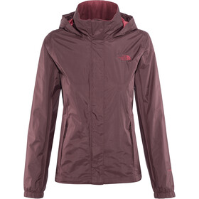 The North Face Resolve 2 Veste Femme, fig/rumba red